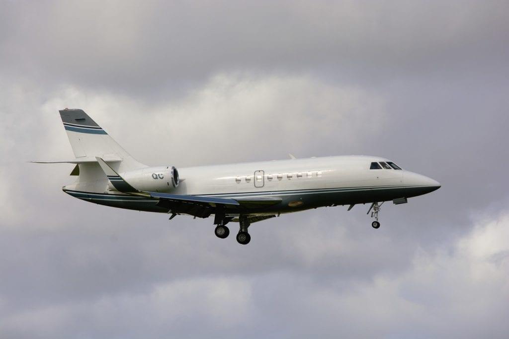 corporate jet, flying, jet